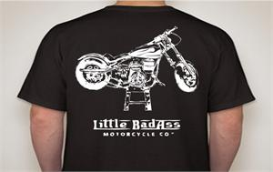 BACK Little Badass T-Shirt, mens short sleeve