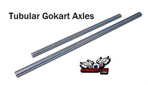 Tubular Gokart Axles, Complete Selection