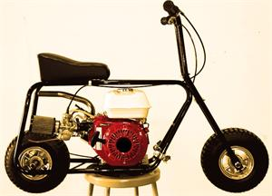 Hornet Minibike, shown Mikuni Stage 1 and Fatty