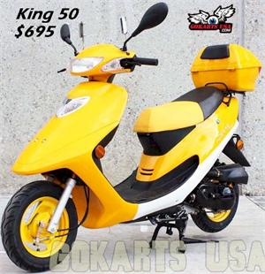 King 50 Moped Scooter