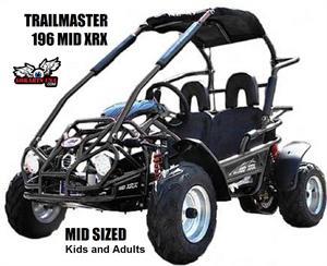 TrailMaster 196cc MID XRX Kids Buggy Go Kart