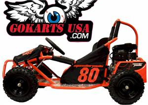 Monster 80 Youth Go Kart