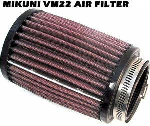 Air Filter, High Flow for Mikuni VM22mm Honda GX120/160/200