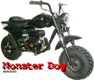 Monster Dog Minibike