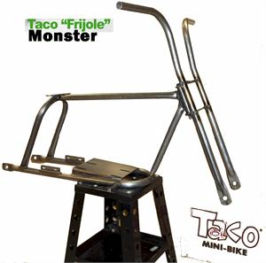 Monster Frijole Mini Bike Frame Kit