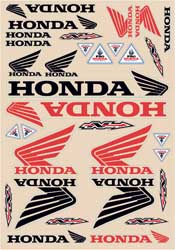 Honda Decal Kit