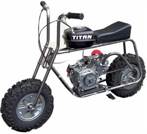 Titan 550 Old School Minibike