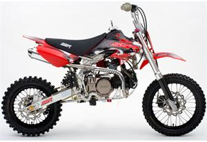 SSR 125 X3+12 4-Speed Manual Clutch Dirt Bike
