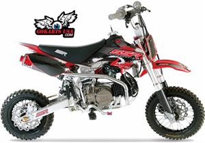 SSR 125 X3 Pro 12, 4-Speed Manual Clutch Dirt Bike