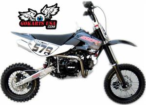 SSR 140 TX 4-Speed Manual Clutch Dirt Bike