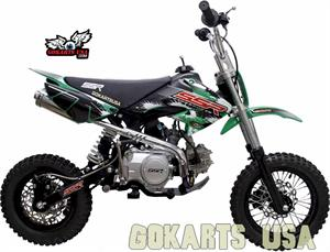 SSR 110 Mini Dirt Bike