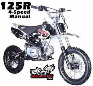 SSR 125cc 4-Speed Manual Pit Bike