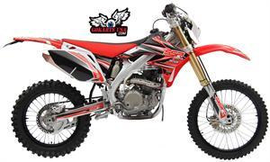 SSR SR250R 5-Speed Manual Clutch Dirt Bike