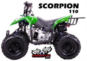 Scorpion 110 ATV