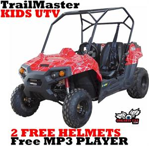 TrailMaster 150 Kids UTV Side by Side