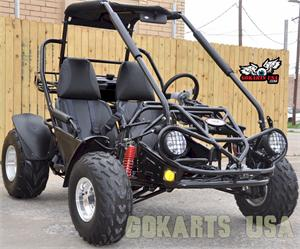 TrailMaster 150 XRS Buggy Gokart, Black