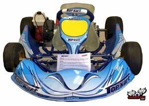 TopKart Kid Kart, Complete With C51 Comer