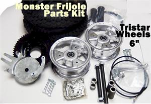 Monster Frijole Minibike Parts Kit, TRISTAR 6