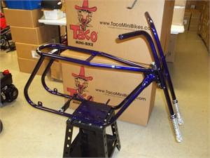 Assembled Taco 22 Frame Kit, with Powdercoat Option