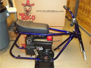 Powdercoated Frame Kit with Seat and Tecumseh installed