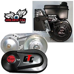 GTC Gokart Torque Converter for Tecumseh Engine