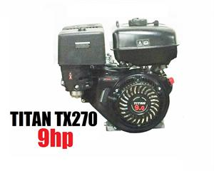 Titan TX270 9hp, OHV Powersport Engine, Go Kart