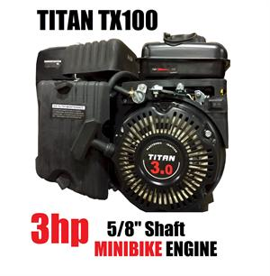 Titan TX100 3hp OHV Powersport Engine 98cc, Go Kart Minibike