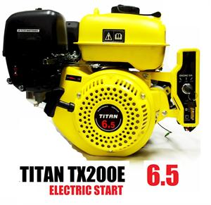 Titan TX200E 6.5hp, Electric Start OHV Powersport Engine, Go Kart Minibike