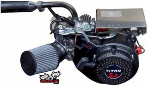 Titan TX200S 6.5hp Engine with optional Stage 1 installed, Gokart