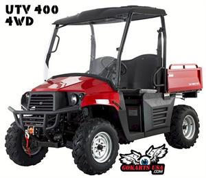 Big Buck 400 UTV 4WD EFI