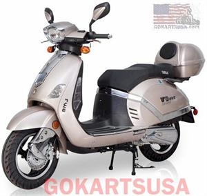 BMS V9 EVO 150 Moped Scooter: California Legal Scooters