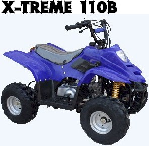 X-Treme110B Mini ATV