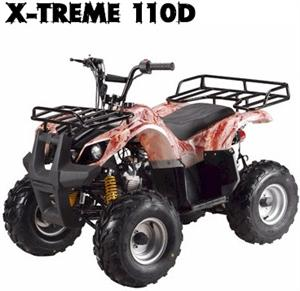 X-Treme110D Mini ATV