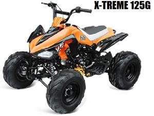 X-Treme 125G Sport ATV, 3-Speed Semi Auto w/Reverse