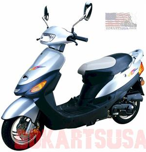 Kinroad Express 50 Moped Scooter XT50QT-2