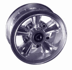 """astro mini bike wheel, 6\"""" split rim"""