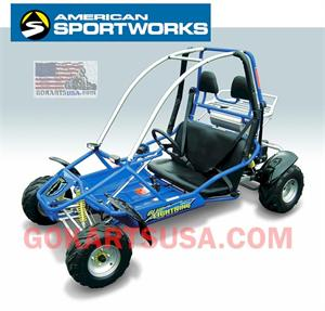 Blue Lightning 150cc Go Kart