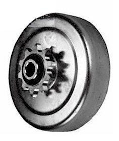 1 in  Bore Centrifugal Clutch, HD #35, 12-Tooth Go Kart