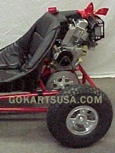 Kids Dune Buggy >> Go Kart 5 in. Rear Wheel and Tire assembly, Live Axle 1 in