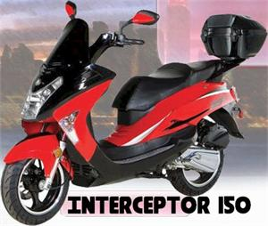 Interceptor 150 Moped Scooter