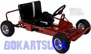 Kenbar D-857E GoKart, 6.5hp Electric Start, Torque Converter