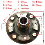 JCL MG250A REAR BRAKE ROTOR