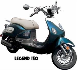 Legend 150 Moped Scooter
