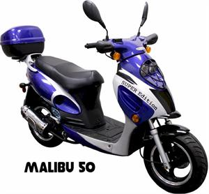 Malibu 50 Moped Scooter