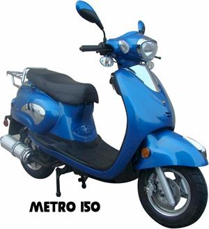 Metro 150 Moped Scooter