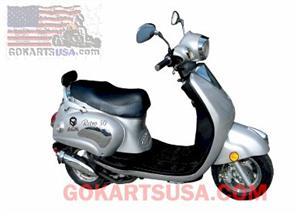 ACE Retro 50 Moped Scooter, 2 Year Warranty