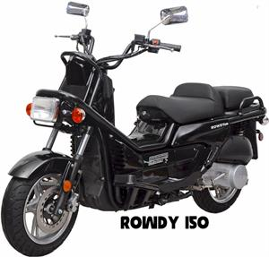 Rowdy 150 Moped Scooter