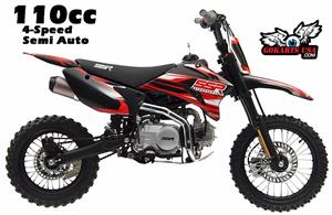 SSR 110TR Pit Bike, 4-Speed Manual Clutch