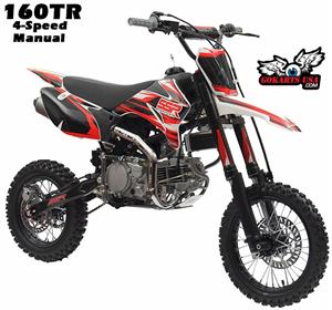 SSR 160TR Pit Bike 4-Speed Manual Clutch