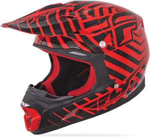 THREE.4 SONAR HELMET, Red/Black